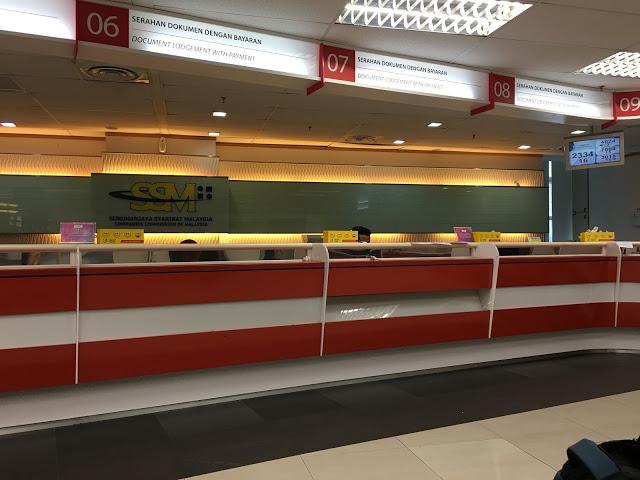 ssm office sentral
