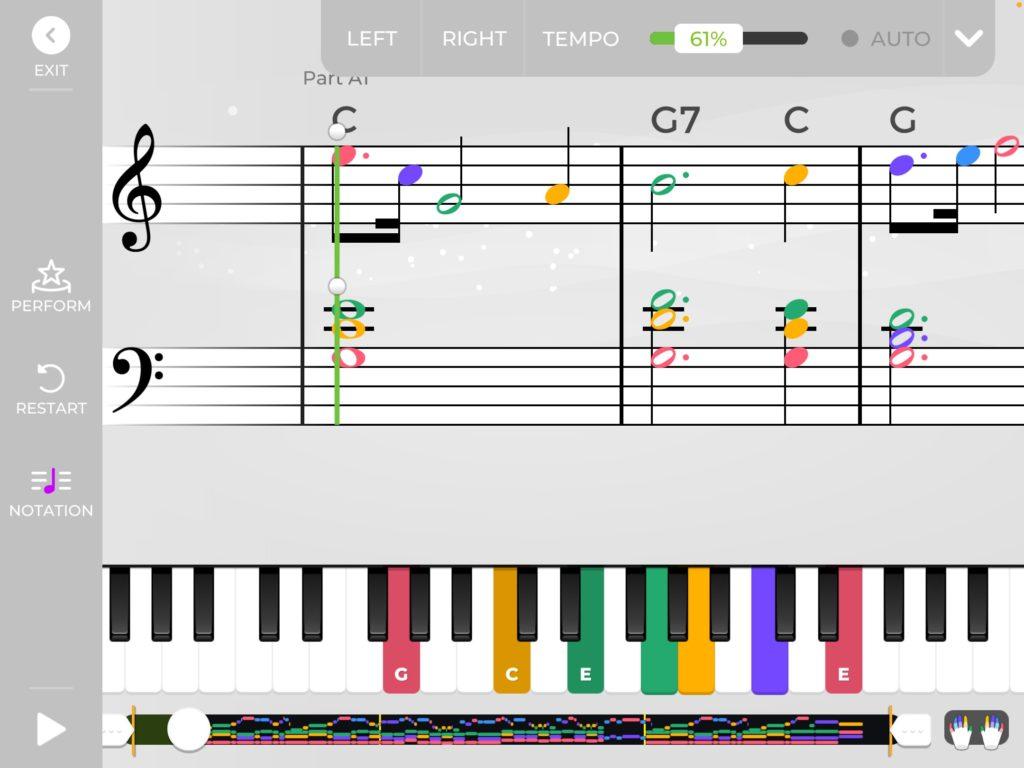 yousician piano practice